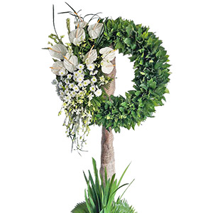 Peace and Love (Wreath)