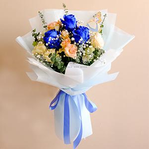 Into Wonderland (Blue Ecuadorian Bouquet)