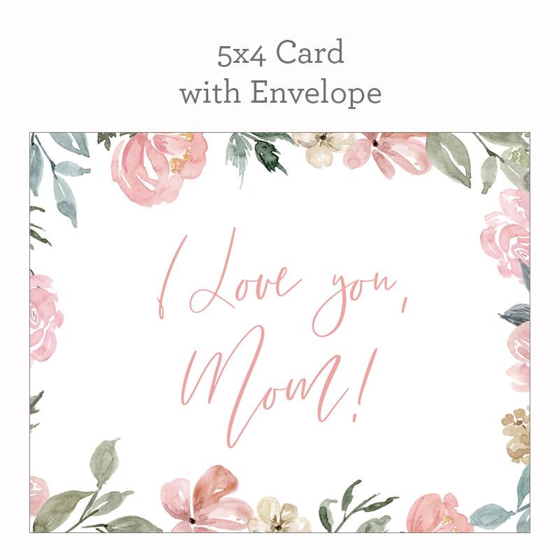 I Love You, Mum Card