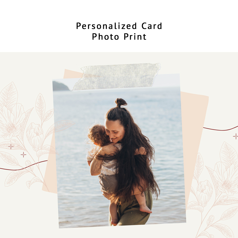 Personalized Photo Card