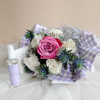 Pleasing Purple (Rose Bouquet & Room Spray)