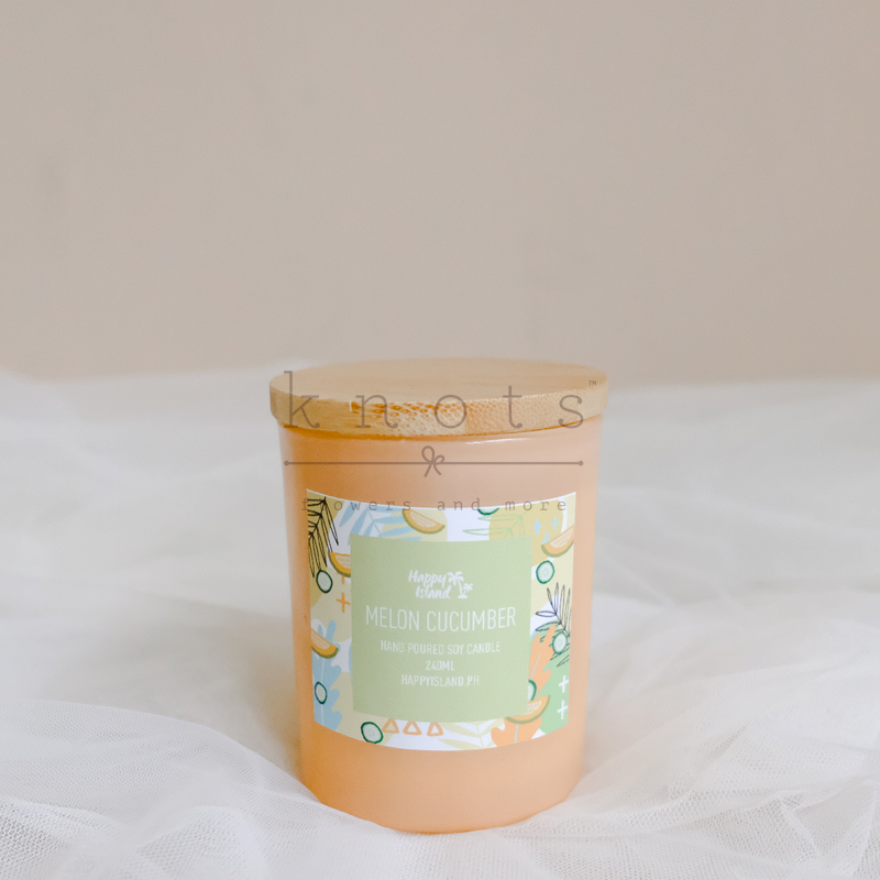 Melon Cucumber Soy Candle 240ml