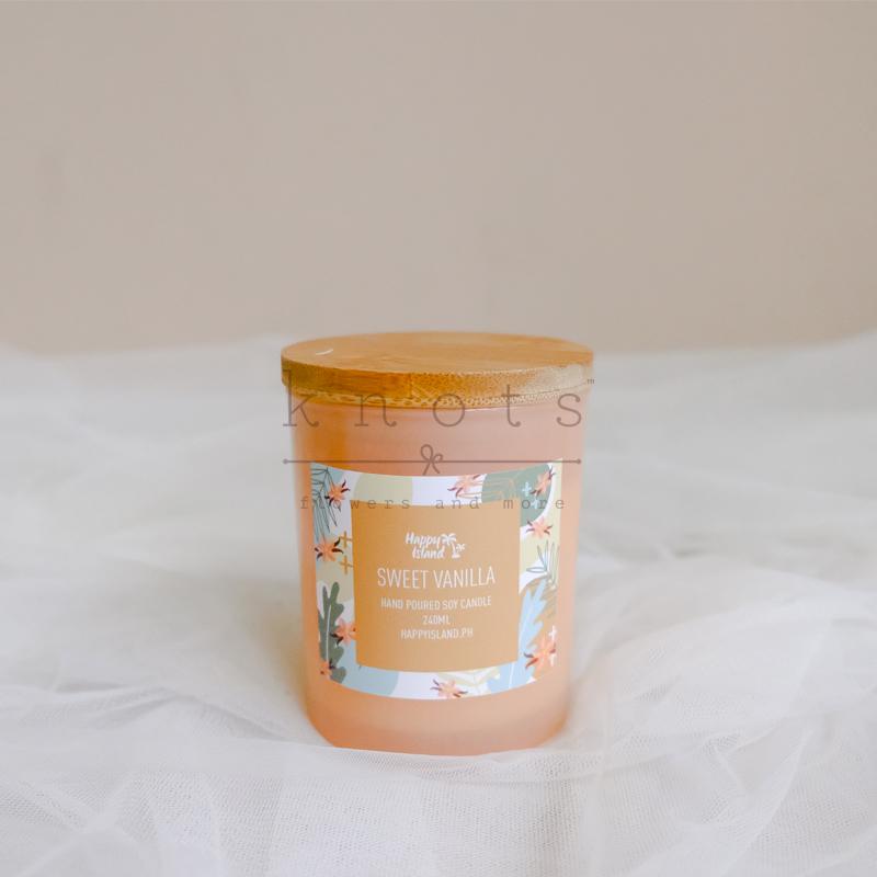 Sweet Vanilla Soy Candle 240ml