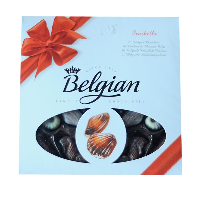 Belgian Seashells Chocolate 195gm