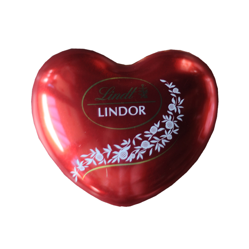 Red Lindt Lindor Heart 37gm