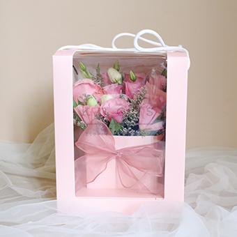 Turn up the Pink (Pink Ecuadorian Roses)