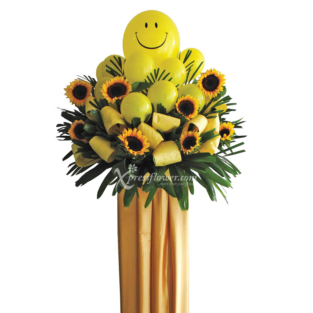 Sunflowers Congratulatory Flower Stand