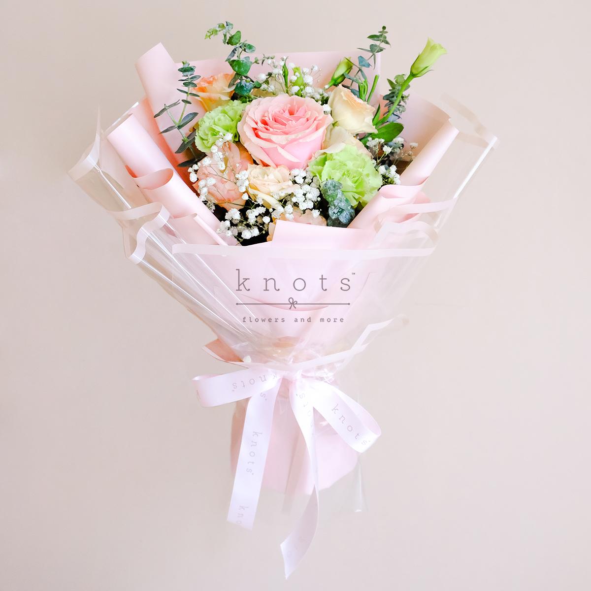 Willow (Pink Ecuadorian Rose Bouquet)