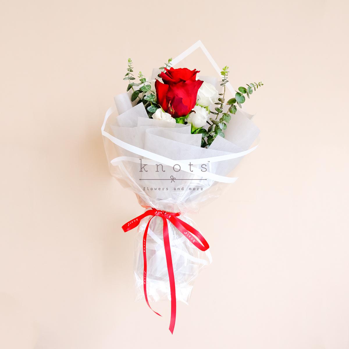 Sapphire (Red Ecuadorian Rose Bouquet)