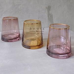 Round Thick Glass