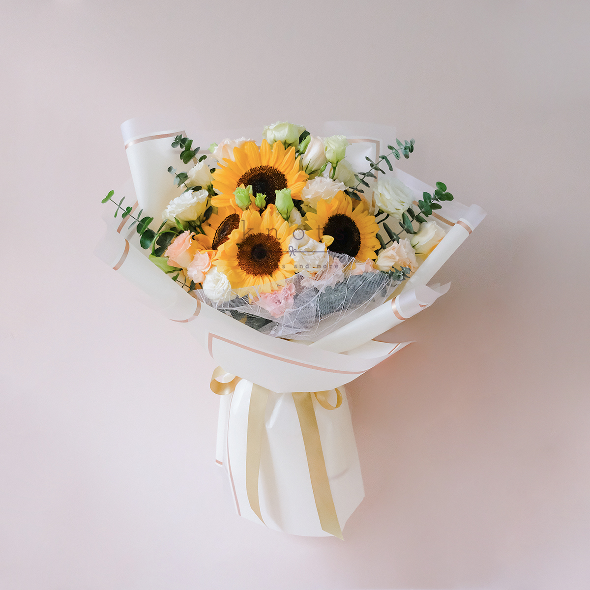 Shines Only With You (Sunflowers Bouquet)