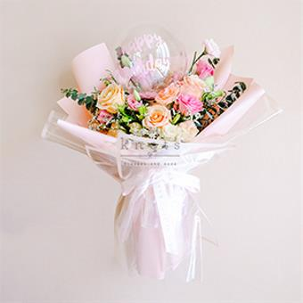 It's Your Day (Shimmer Ecuadorian Roses Bouquet)