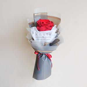 Sprouting Precious Bloom (Red Ecuadorian Rose Bouquet)