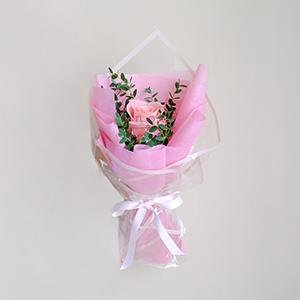 Happy Hugs (Pink Ecuadorian Rose Bouquet)