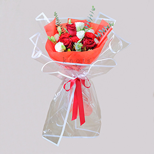 3 Words to Forever (Red Ecuadorian Roses Bouquet)