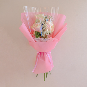 Whole Lotta Love (Pink Ecuadorian Roses Bouquet)