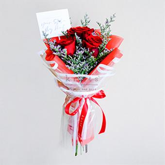 You've Stole my Heart (Red Ecuadorian Roses Bouquet)