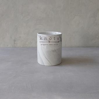 Marble Round Vase