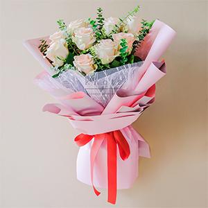 Lifting Spirit (Pink Ecuadorian Roses Bouquet)