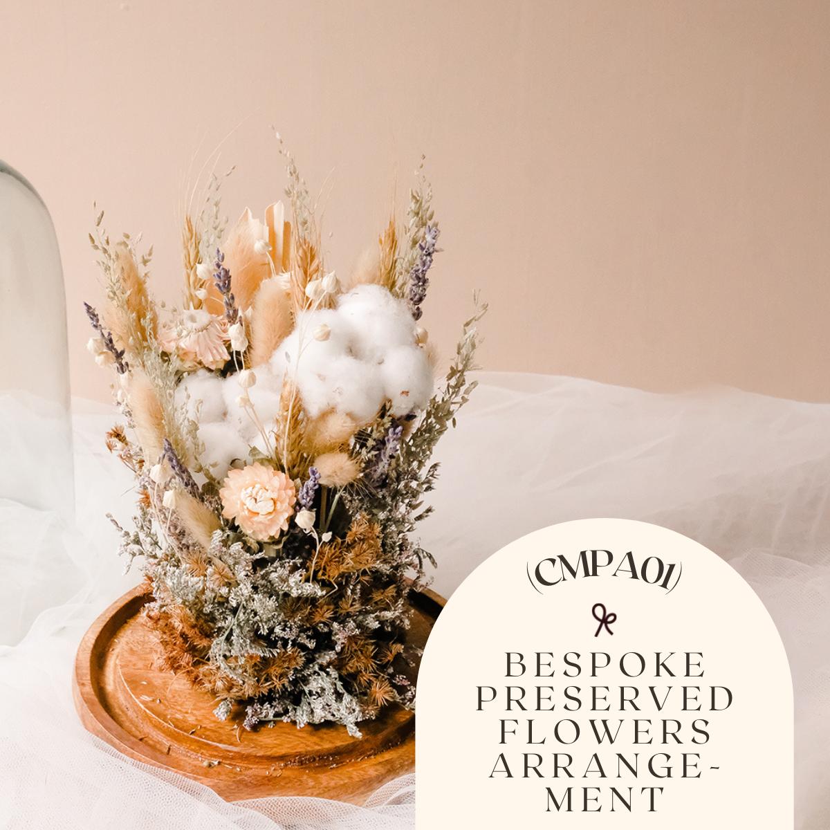 Bespoke Preserved Flowers Arrangement