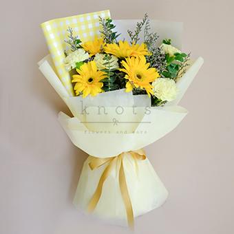 Upsy Daisy (Yellow Gerbera Bouquet)