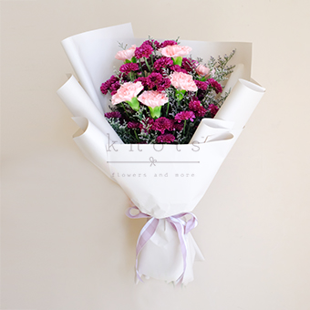 Graceful Glory (Pink Carnations)