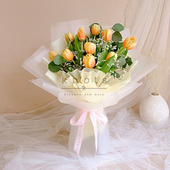 Summer Gleam (Tulips Bouquet)