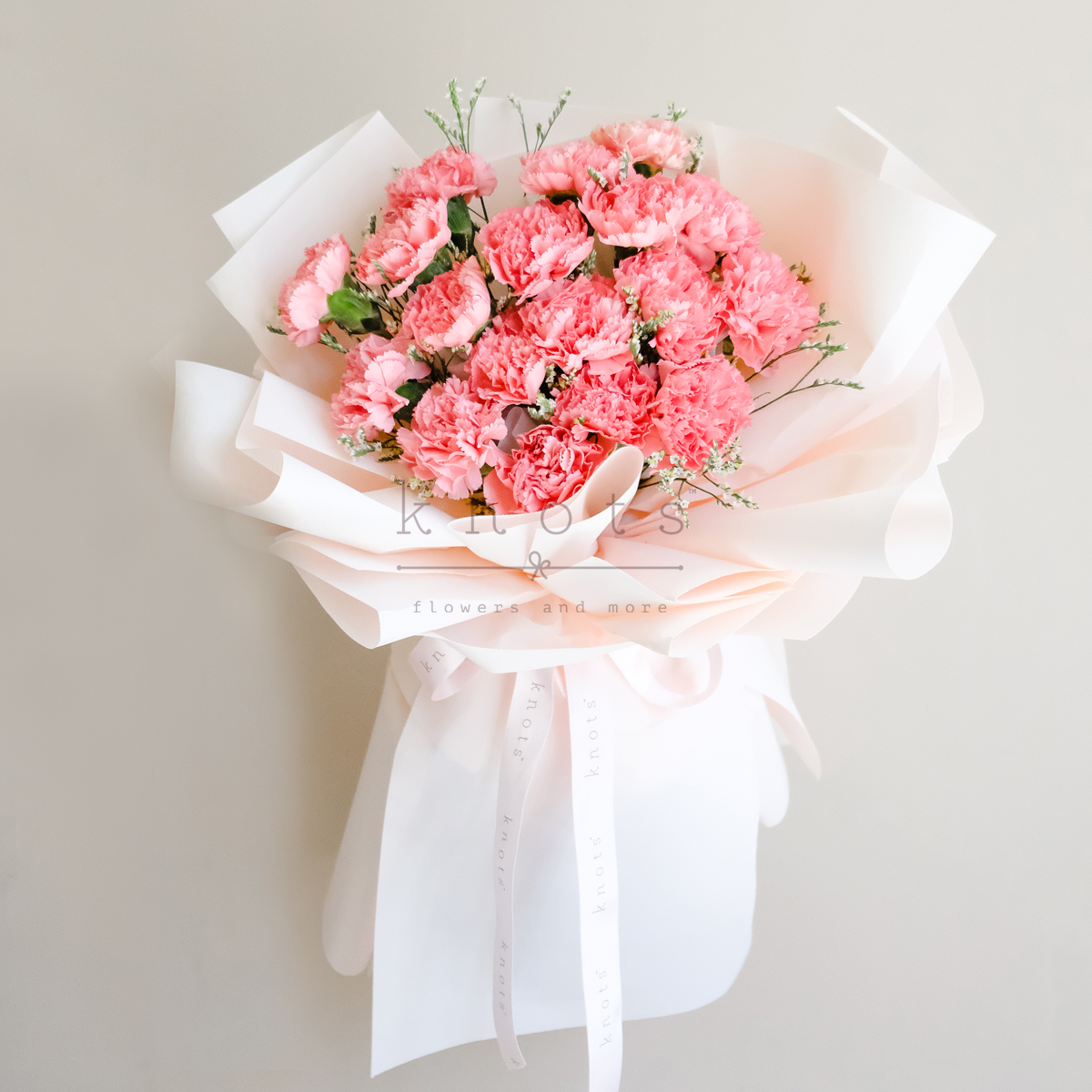 Endless Beauty (Carnations Bouquet)