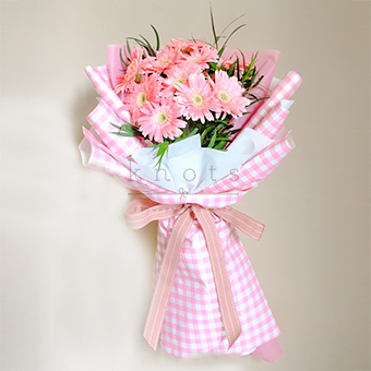 Sweet Confession (Pink Gerbera Bouquet)