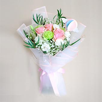 Day Of Sweetness (Pink Ecuadorian Roses)