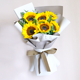 Sweet Loyal (Sunflower Bouquet)