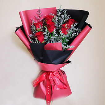 Binding Gesture (Red Roses Bouquet)