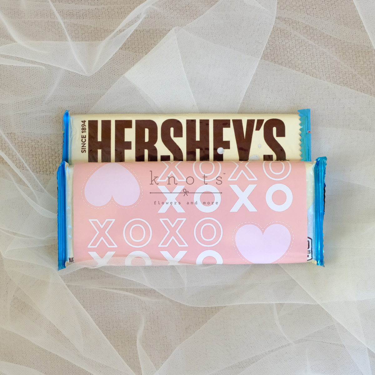 XOXO 1 Pc Hershey Bar