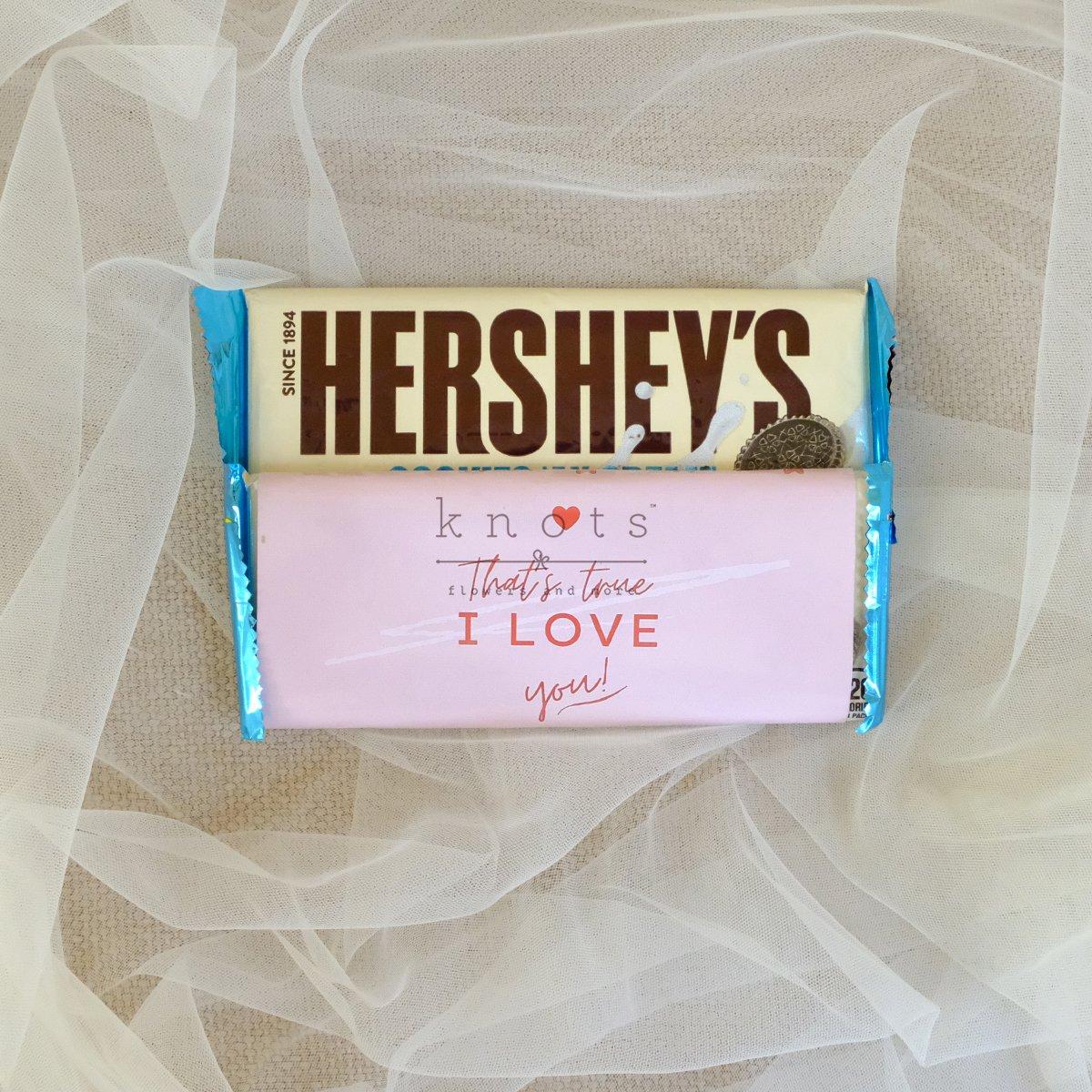 Thats True I Love You 1 Pc Hershey Bar
