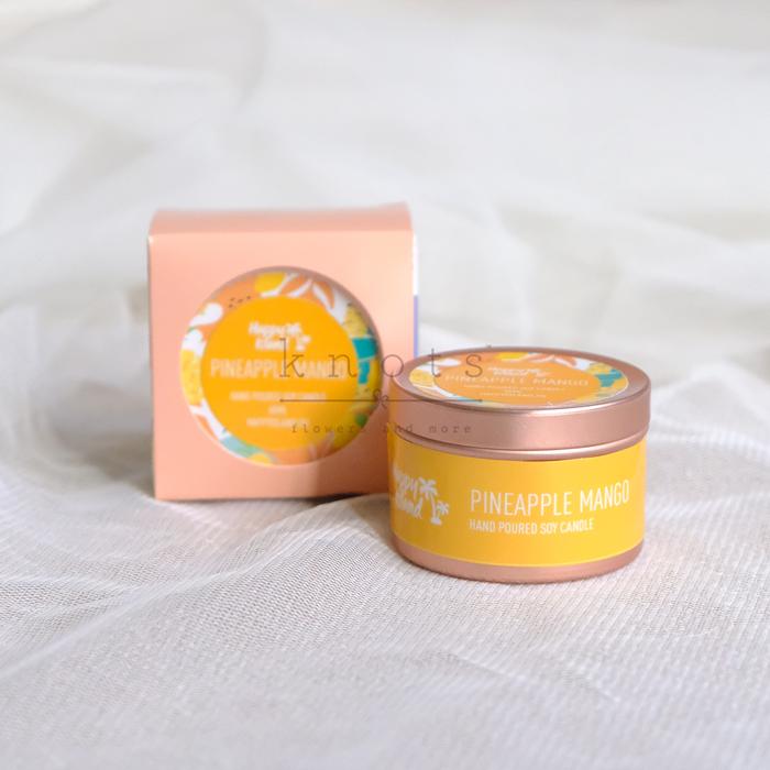 Pineapple Mango Soy Candle 60ml