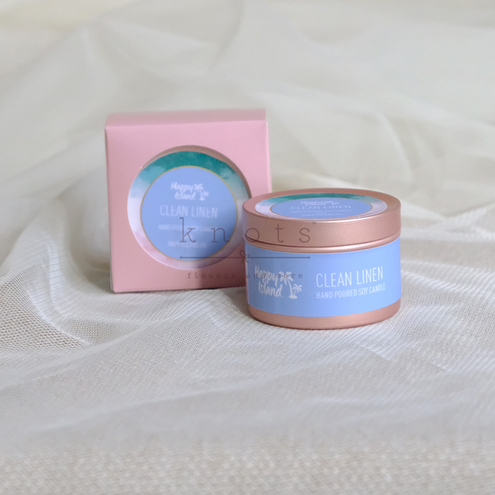 Clean Linen Soy Candle 60ml