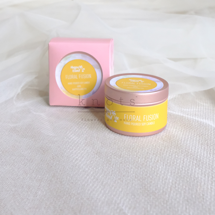 Floral Fusion Soy Candle 60ml