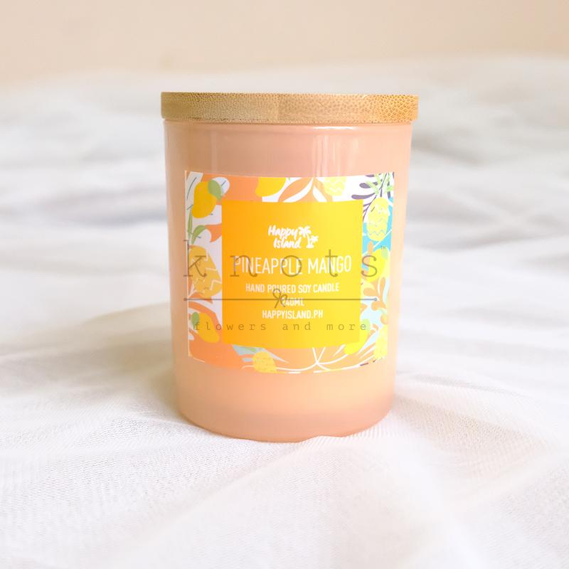 Pineapple Mango Soy Candle 240ml