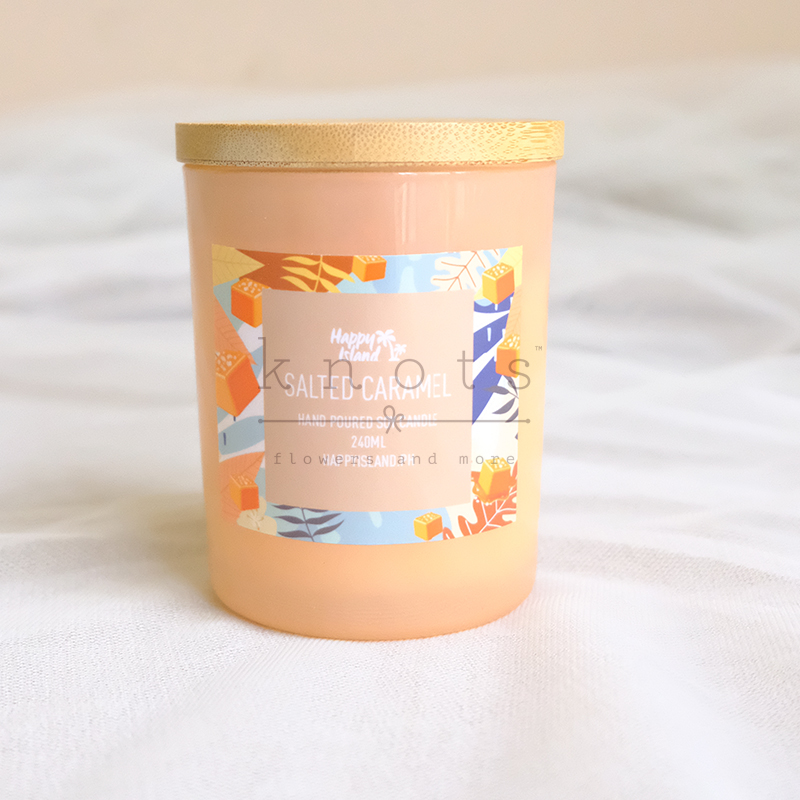 Salted Caramel Soy Candle 240ml
