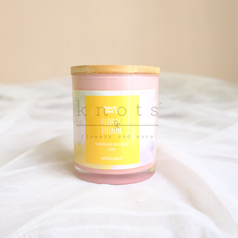 Floral Fusion Soy Candle 300ml