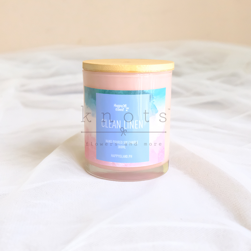 Clean Linen Soy Candle 300ml