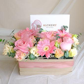 Wondrous Wishes (Flowers & Macarons)