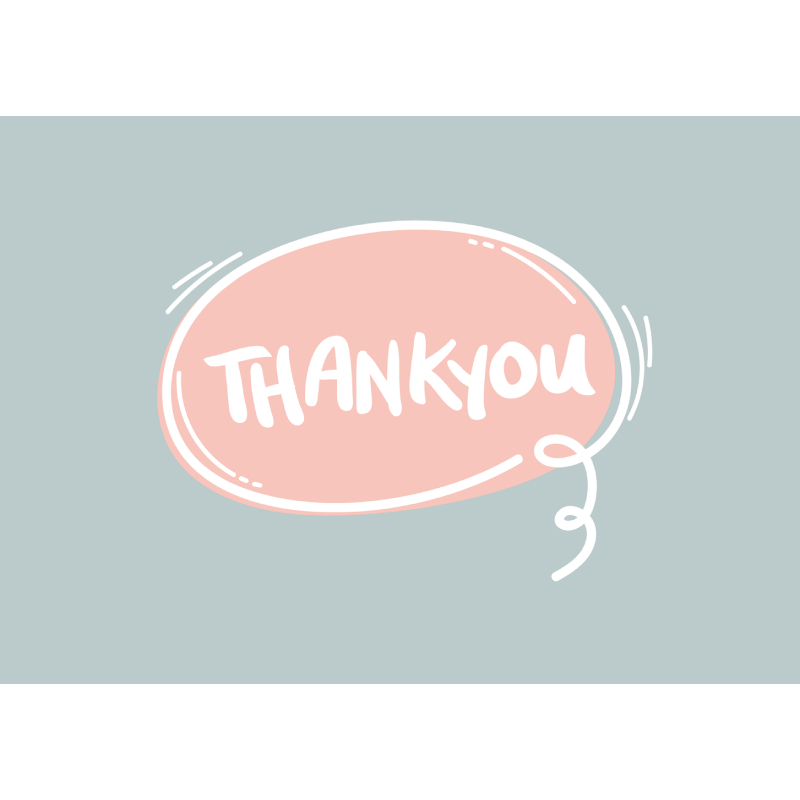 Thank You (Speech Bubble)