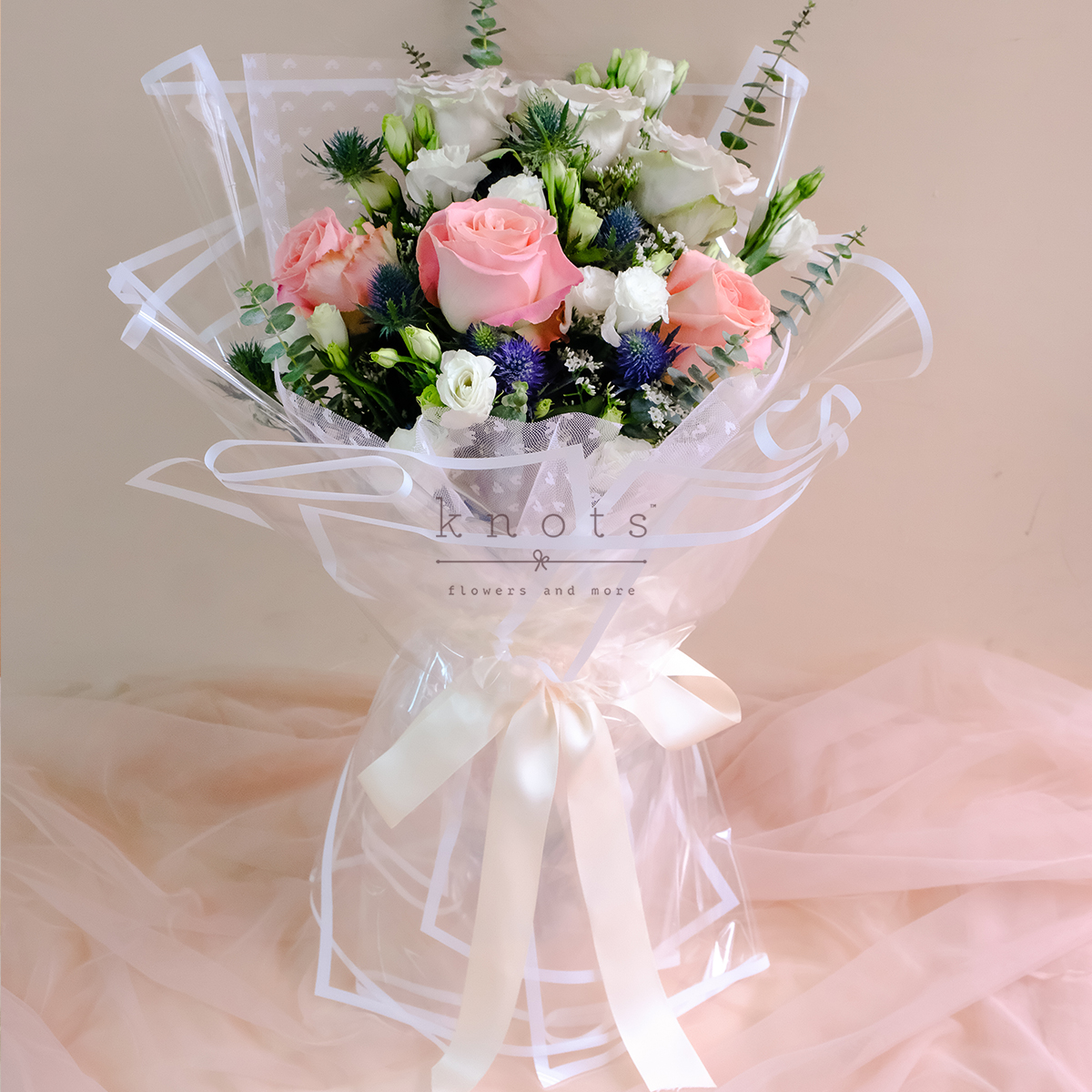 Evelyn ( Pink Ecuadorian Roses Bouquet)