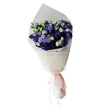Purple Revelry (Purple Lisianthus Bouquet)