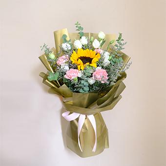 Cheerful Overflows (Sunflower Bouquet)