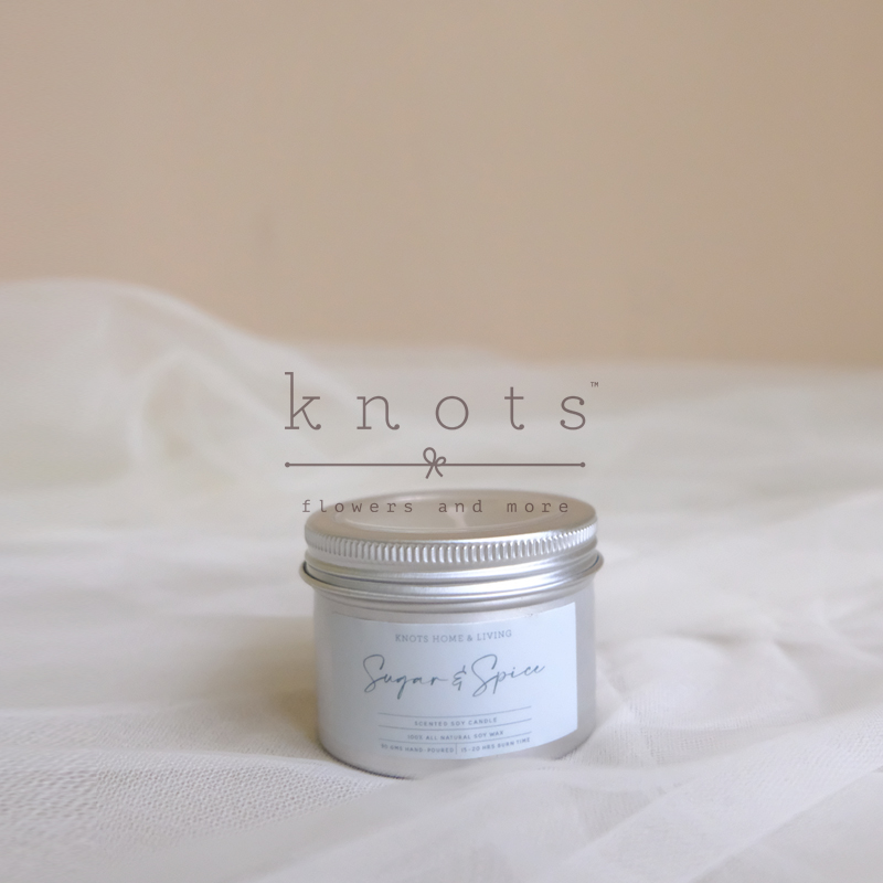 Sugar & Spice Soy Scented Candle