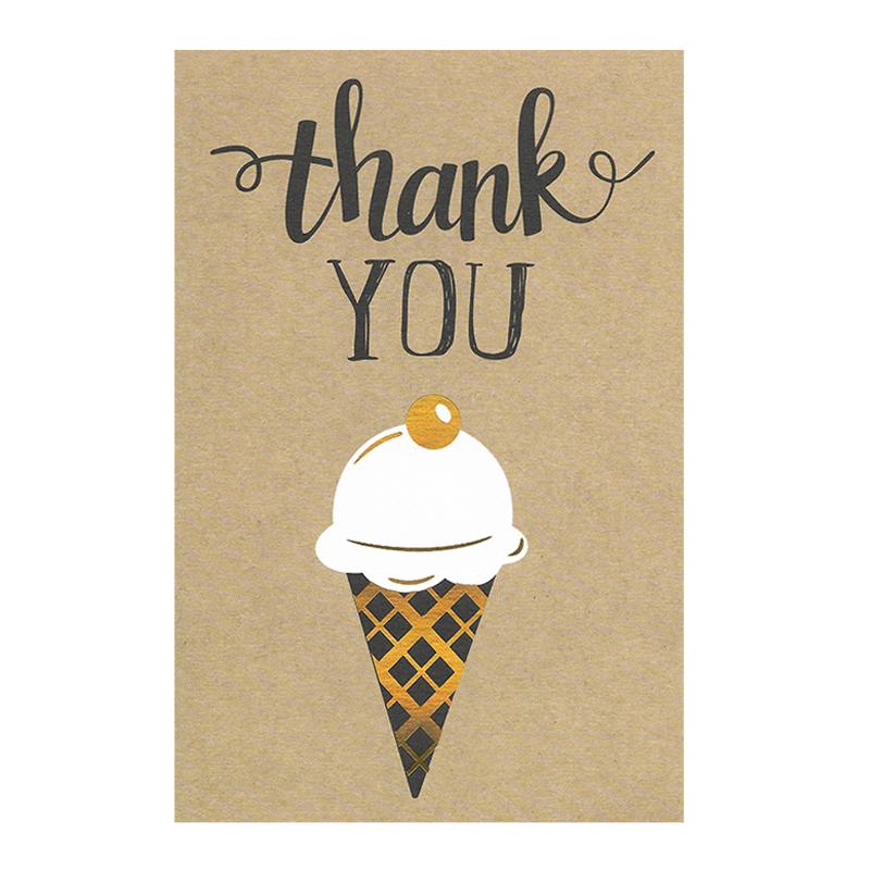 Thank you (Ice Cream)