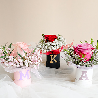 Mini Box Fleur (Ecuadorian Rose)
