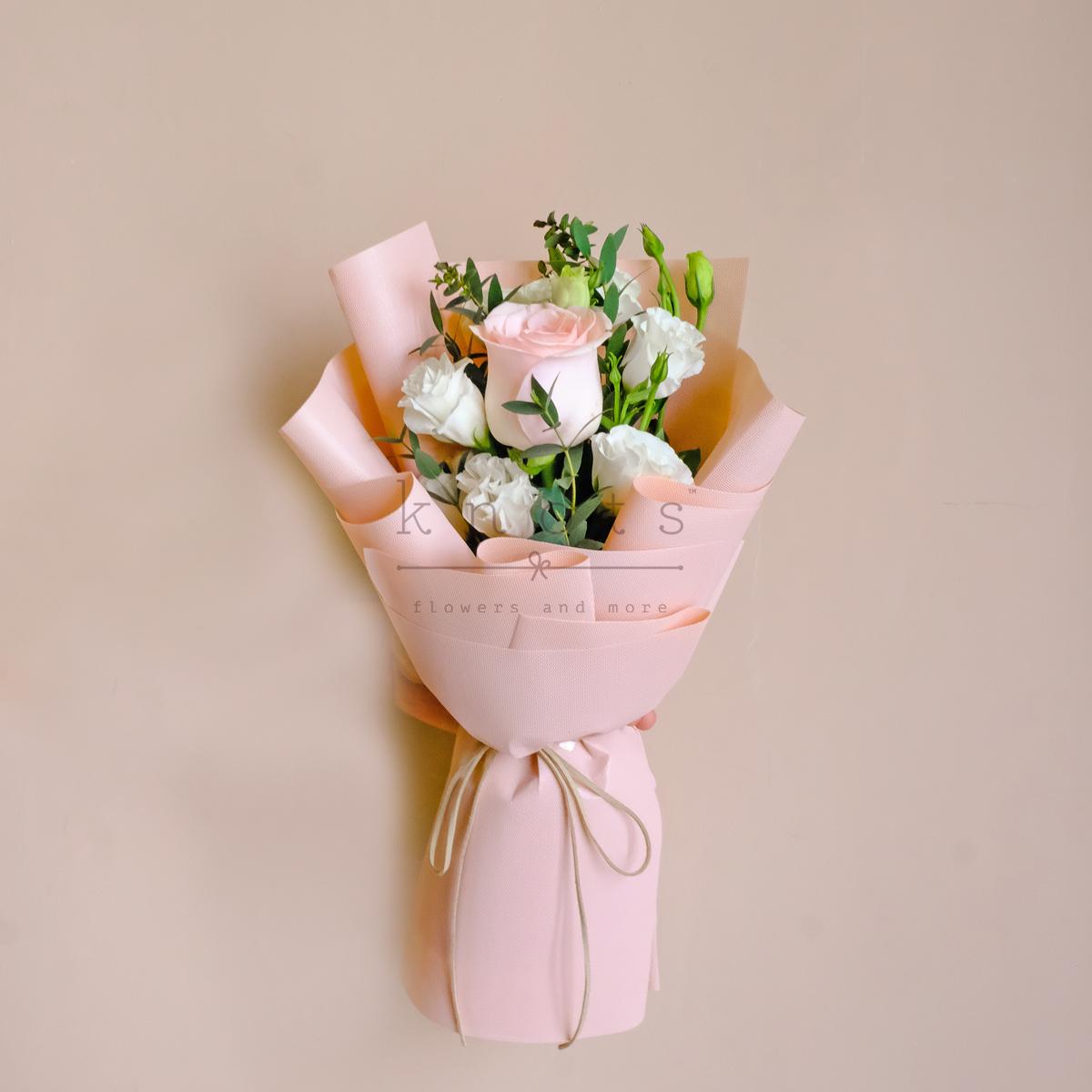 Wonder Woman of My Life (Pink Ecuadorian Rose Bouquet)